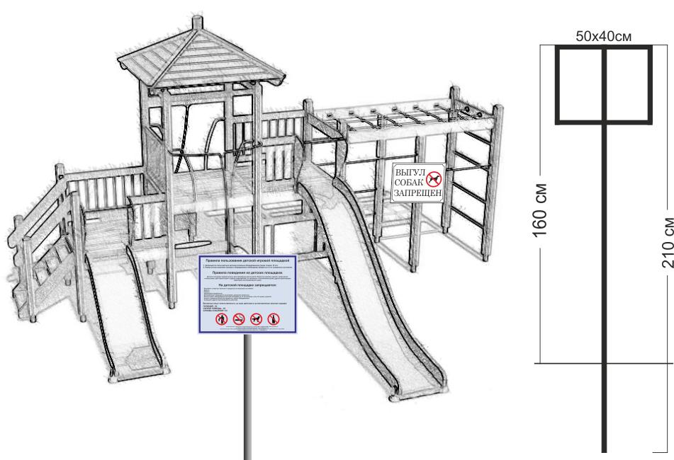 правила пользования детскими площадками образец